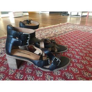 NEW Madewell Alexa chung sandal heel mule wrap